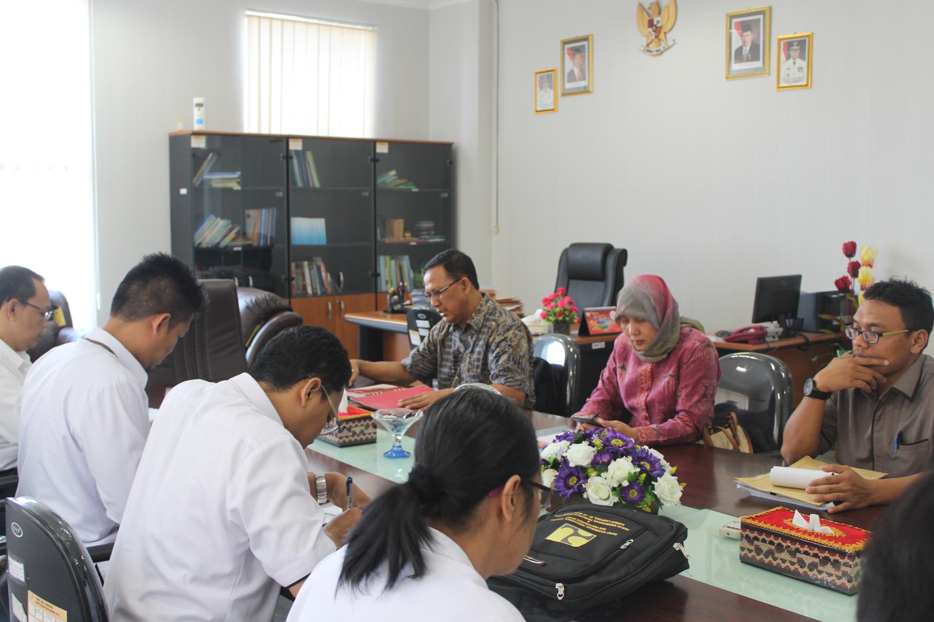 Audiensi ke BPS Provinsi lampung (3/8/2017)