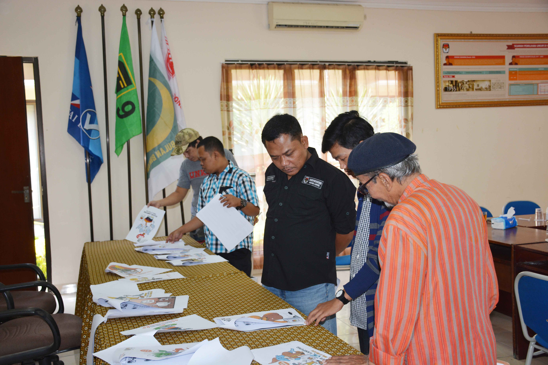 Penjurian Sayembara Maskot dan Jingle Pilgub Lampung 2018 (11-12/09/2017)